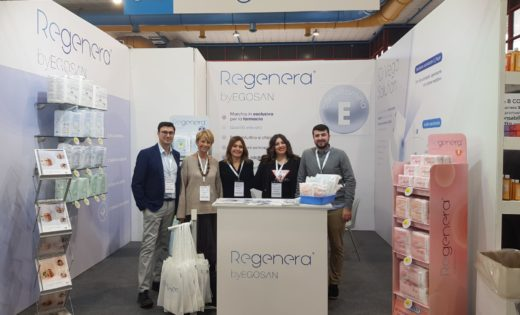 The success of Regenera By Egosan at the Pharmexpo event