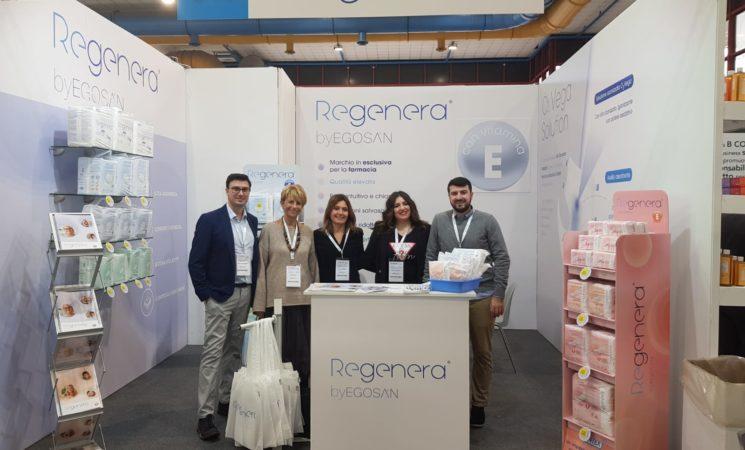 Il successo di Regenera By Egosan all'evento Pharmexpo