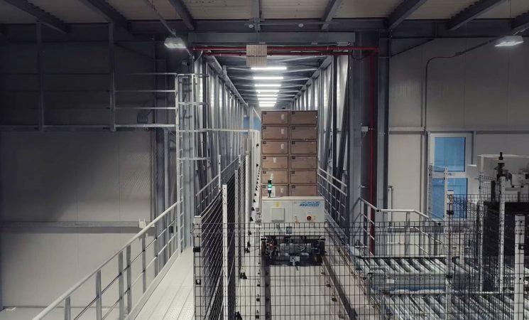 Ancora più innovazione: Il nuovo magazzino automatico di Santex collaudato e inaugurato.